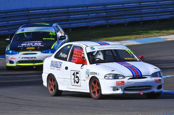 Hyundai Excel Race Car